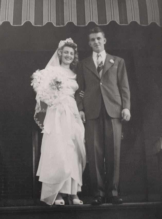 Michelle M. Murosky: The Murosky Collection &emdash; Walter E. Niemi & Rita Ann Murosky Wedding