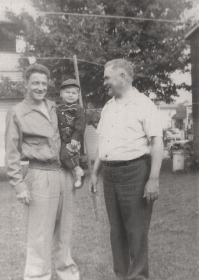 Michelle M. Murosky: The Selker Collection &emdash; 1952 - Leopold George Selker Family - Three Generation Photograph