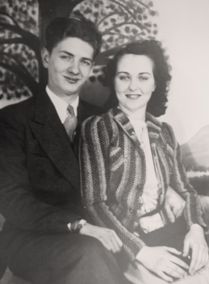 Michelle M. Murosky: The Arthur & Mary Eugenia Collection &emdash; Arthur Murosky & Mary Eugenia McDonald Engagement Photograph