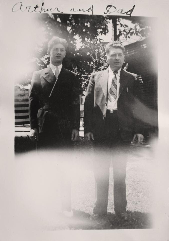 Michelle M. Murosky: The Murosky Collection &emdash; 1936 - Arthur & Anthony Harry Murosky, Jr.