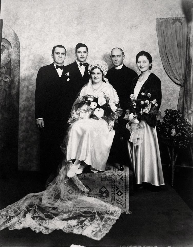 Michelle M. Murosky: The Selker Collection &emdash; Unknown Wedding