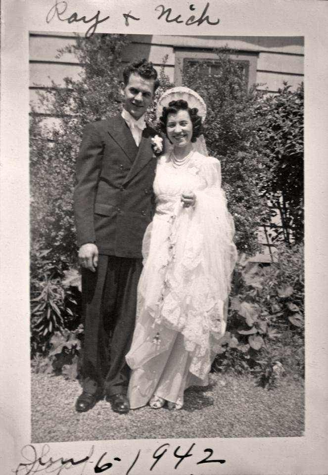 Michelle M. Murosky: The Bukowski Collection &emdash; Wedding of Raymond H. Bukowski & Veronica A. Karpinski