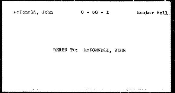 Michelle M. Murosky: Blog Images &emdash; McDonald, John C - 68 - I Muster Roll