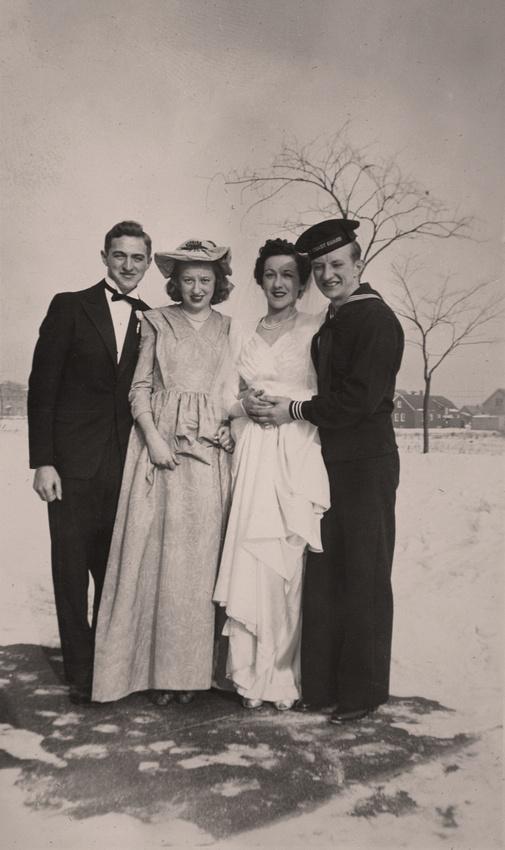 Michelle M. Murosky: The Military Collection &emdash; Wedding of Norbert Bukowski & Dorothy