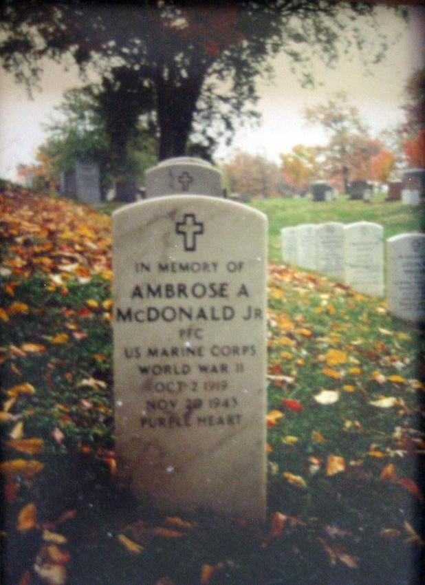 Michelle M. Murosky: The Military Collection &emdash; Ambrose Aloysius McDonald Jr.