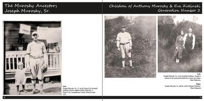 Michelle M. Murosky: Portraits of a Life &emdash; Our Ancestors The Book: Volume I: The Murosky & Bukowski Family